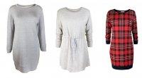 Modne ubrania z tkaniny dresowej