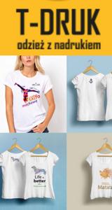 koszulki na zamówienie z nadrukiem od TDruk